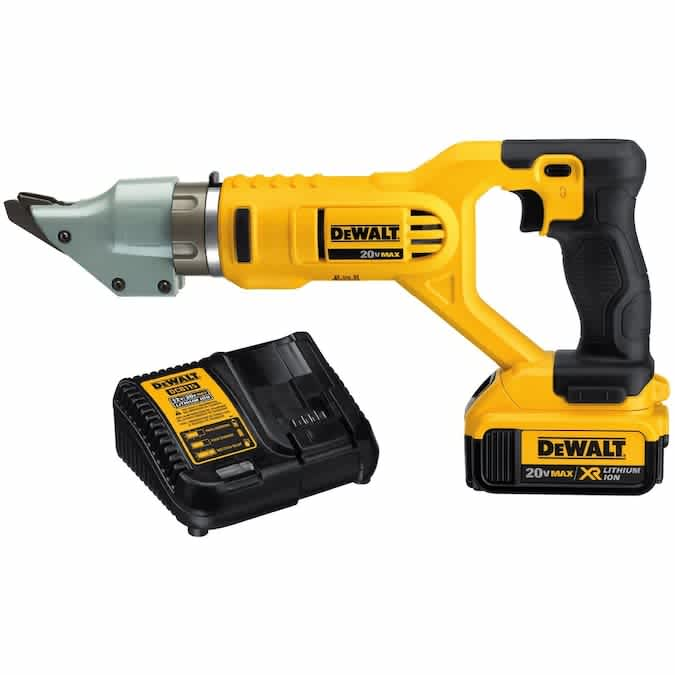 DeWalt 20V 14-Gauge Cordless Swivel Head Shears