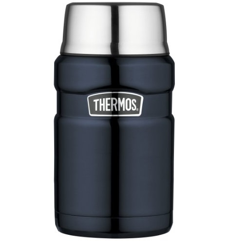 Thermos Stainless Steel King 24 Ounce Food, Midnight Blue