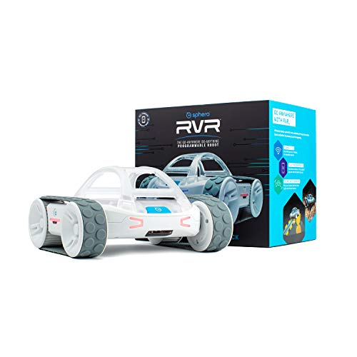 Sphero RVR: All-Terrain Programmable Coding Robot with Customizable Hardware Platform - STEM Educational Robot for Beginners, Builders & Hackers - Micro:bit, Arduino