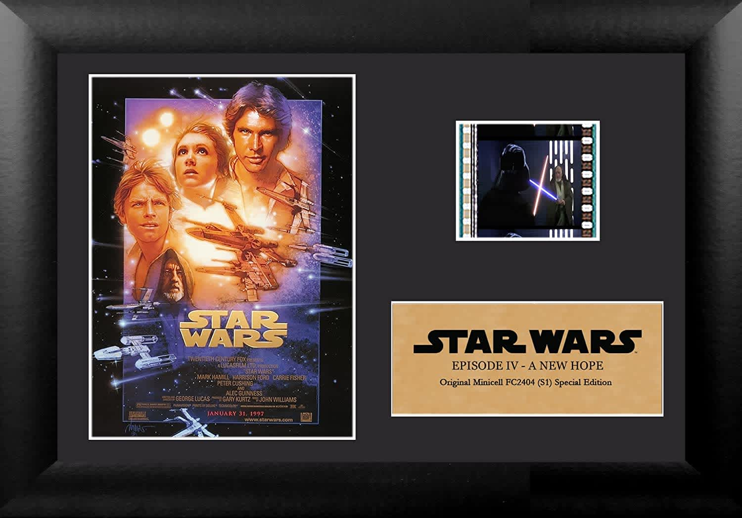 FilmCells Star Wars Framed Film Cell