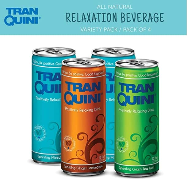 Tranquini All-Natural Relaxation Beverage 12-oz. 4-Pack