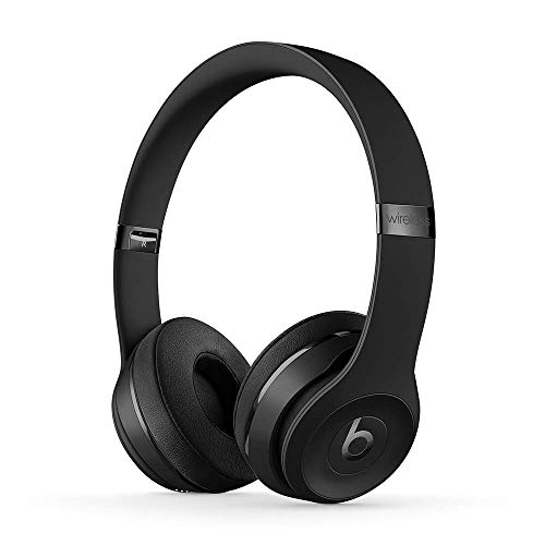 Beats Solo3 Wireless On-Ear Headphones - Apple W1 Headphone Chip, Class 1 Bluetooth, 40 Hours Of Listening Time - Black (Latest Model)
