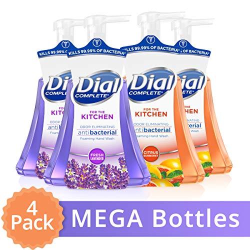 大瓶装!Dial 抗菌洗手液,15 oz/瓶,共4瓶