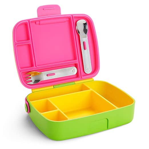 推荐一款给孩子带饭的塑料分隔饭盒