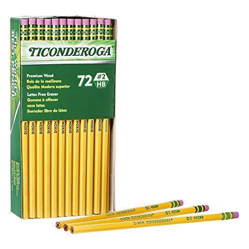 史低价!TICONDEROGA #2 号铅笔,72支