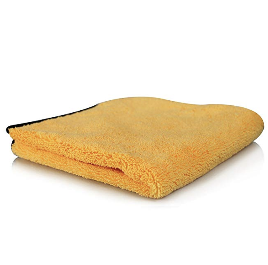Chemical Guys MIC_721 Miracle Dryer Absorber Premium Microfiber Towel, Gold (25 in. x 36 in.)