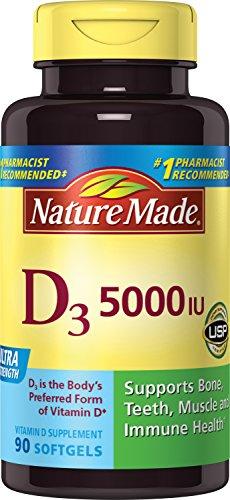 Nature Made液体维生素D3胶囊