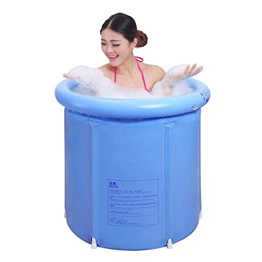 折叠浴缸太方便喇,家里小空间也可以享受泡泡浴