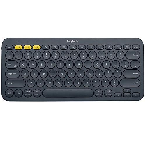 Logitech 罗技 K380 蓝牙多功能键盘,可用于电脑、智能手机或平板电脑