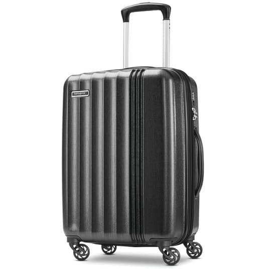 "Samsonite Cerene Hardside Spinner Luggage: 25"" $69 or 20"""
