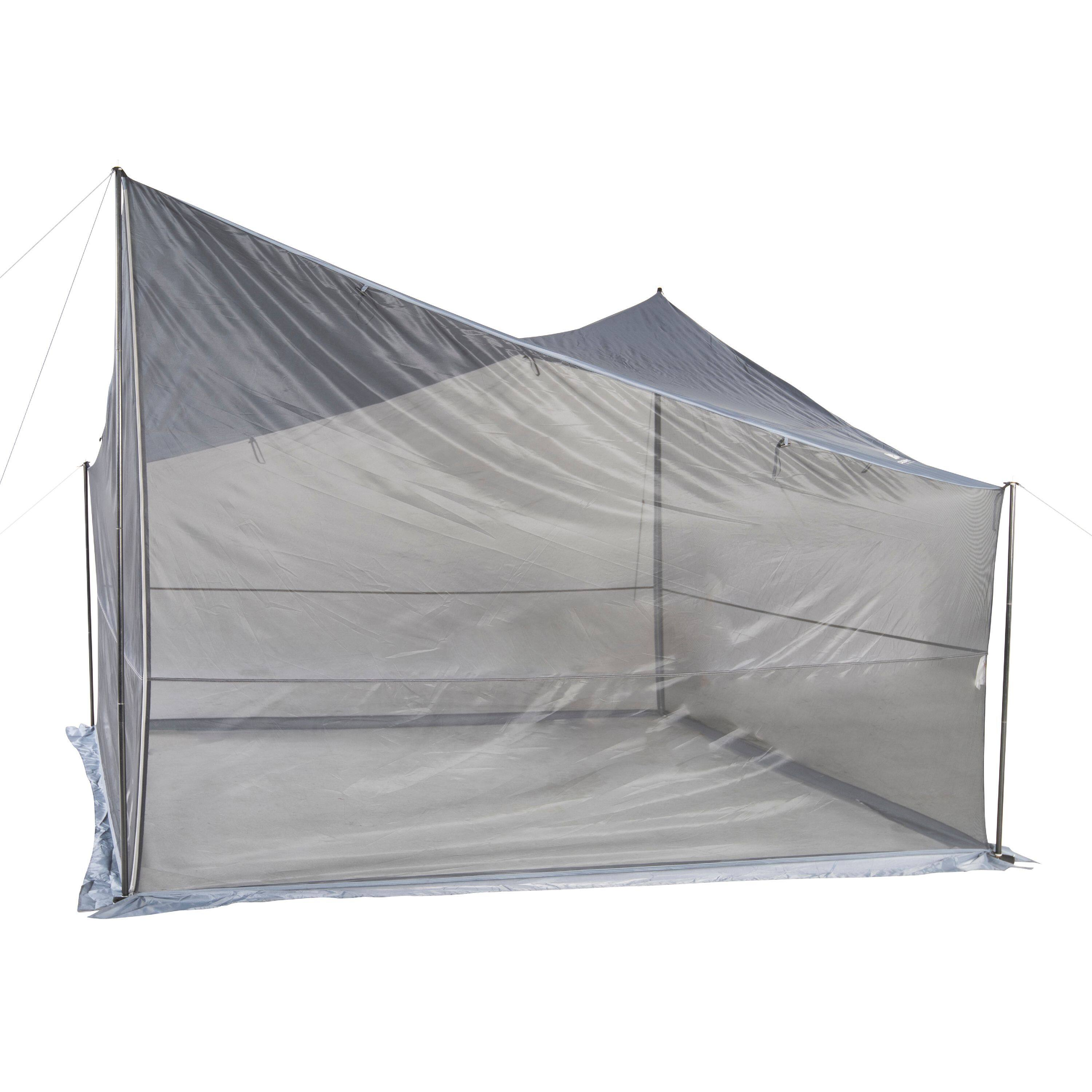 Ozark Trail Tarp Shelter w/ UV Protection & Roll-up Screen Walls