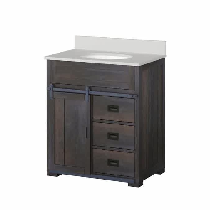 "Style Selections Morriston 30"" Single Sink Bathroom Vanity"