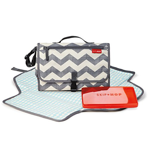 Skip Hop Pronto Signature Portable Changing Mat, Cushioned Diaper Changing Pad