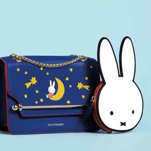 Coggles官网上架Strathberry x Miffy 联名新品