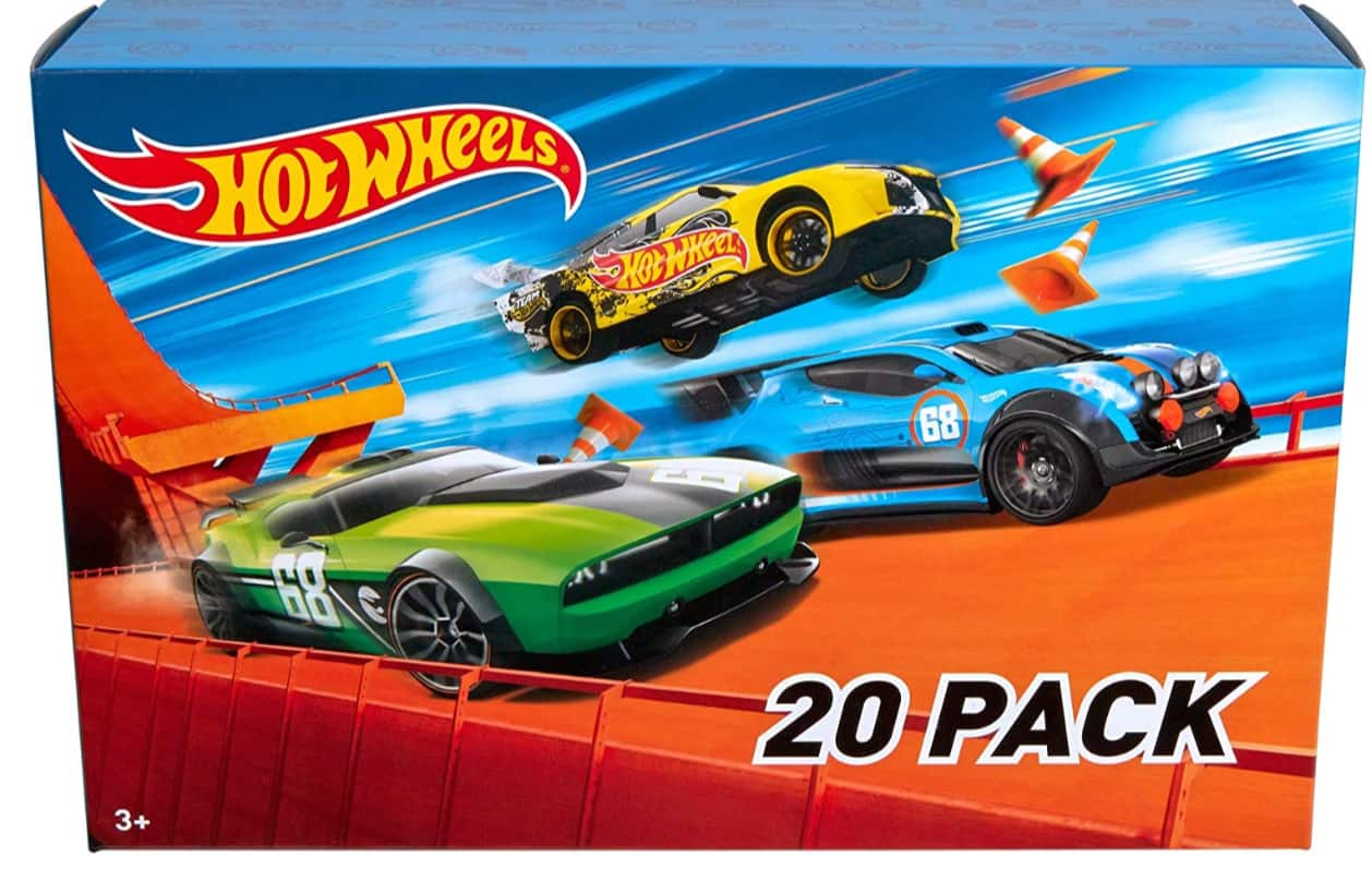 Hot Wheels 20-Car Gift Pack (Assorted Styles)