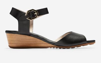 Cole Haan Women's Sandals: Evette Wedge Sandals or Braelyn Sandals