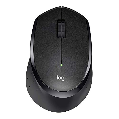 Logitech M330 Silent Plus Wireless Mouse - Enjoy Same Click Feel with 90% Less Click Noise, 2 Year Battery Life, , USB Unifying Receiver, Black
