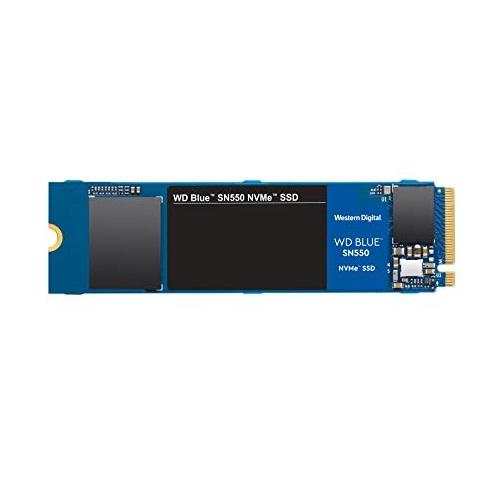 WD Blue SN550 PCIe3.0 x4 NVMe 固态硬盘,500GB