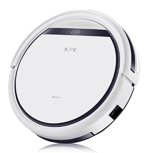 ILIFE V3s Pro Robotic Vacuum, Newer Version of V3s, Pet Hair Care, Powerful Suction Tangle-free, Slim Design, Auto Charge, Daily Planning