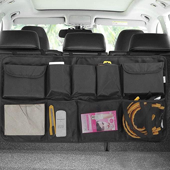 车用悬挂式储物收纳盒,车后箱整洁又干净