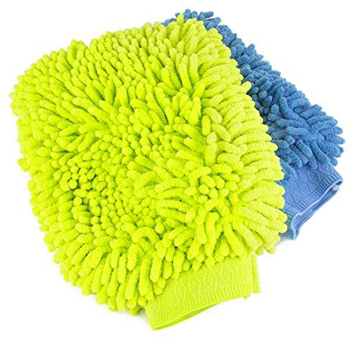 Zwipes 超细纤维无痕洗车手套 2个装