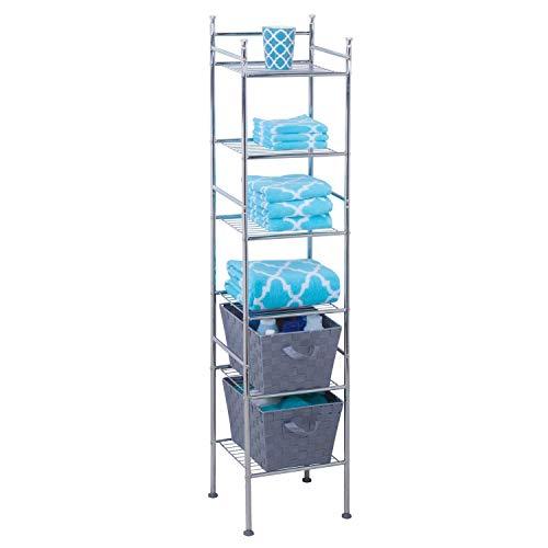 Honey-Can-Do 浴室6层防锈金属储物架