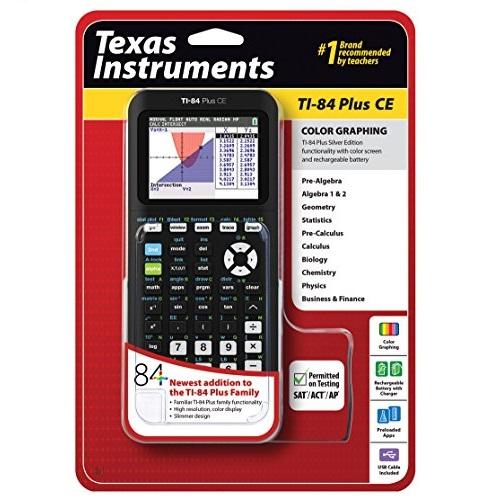 Texas Instruments 德州仪器TI-84 Plus CE 图形计算器