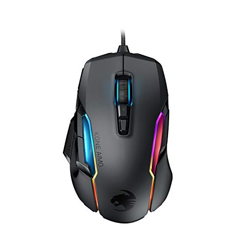Roccat Kone AIMO Gaming Mouse (High Precision, Optical Owl-Eye Sensor (100 to 16.000 DPI)