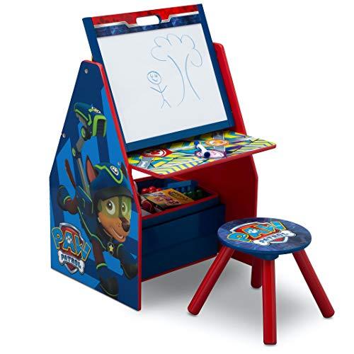 史低价!Delta Children 儿童多功能绘画桌/绘本玩具收纳架