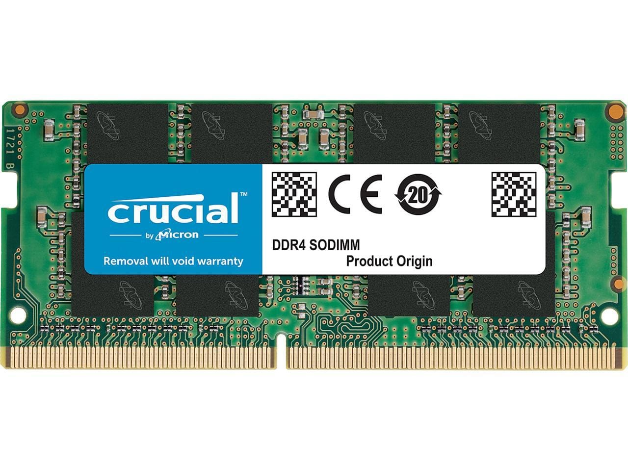 8GB Crucial DDR4-3200 1.2V CL22 Laptop Memory