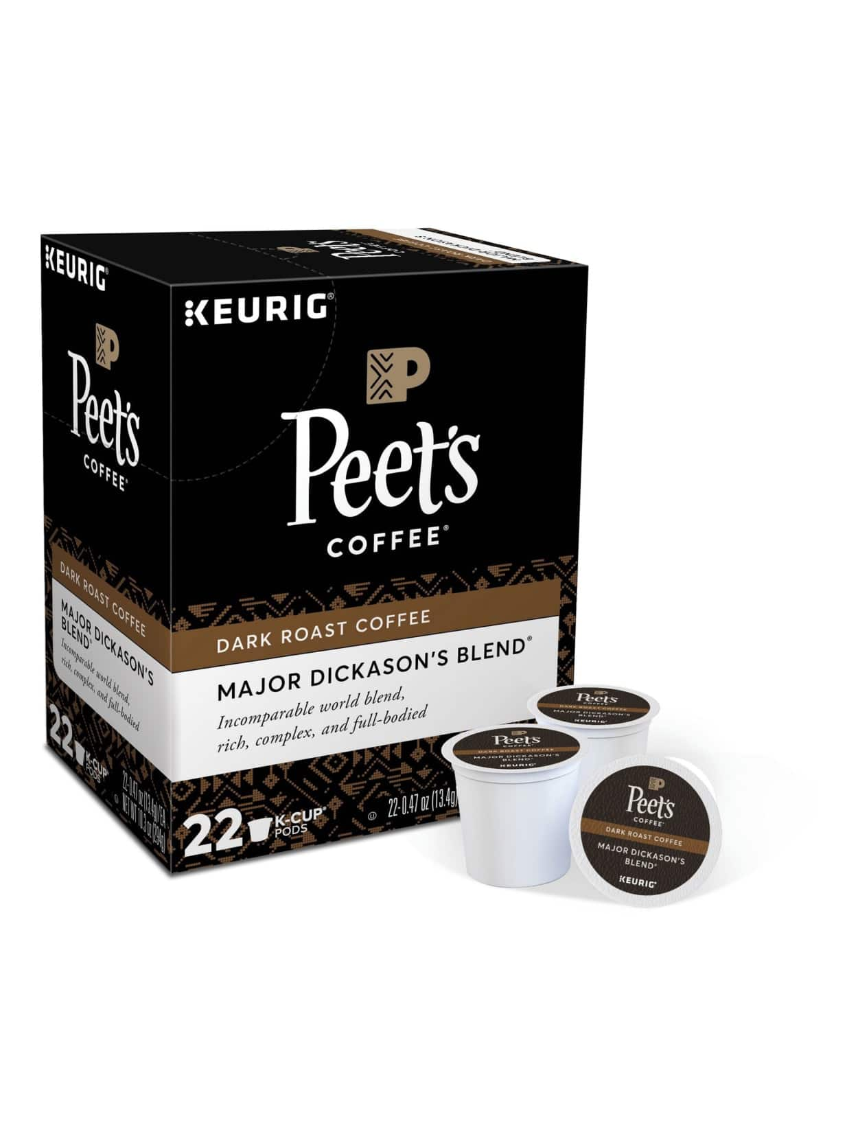 Coffee K-Cup Pods (22-48ct Various Brands & Flavors) + 100% Back in Rewards
