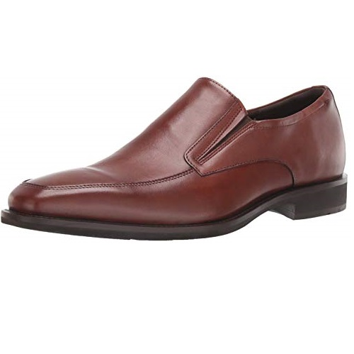 ECCO Men's Calcan Apron Toe Slip on Oxford