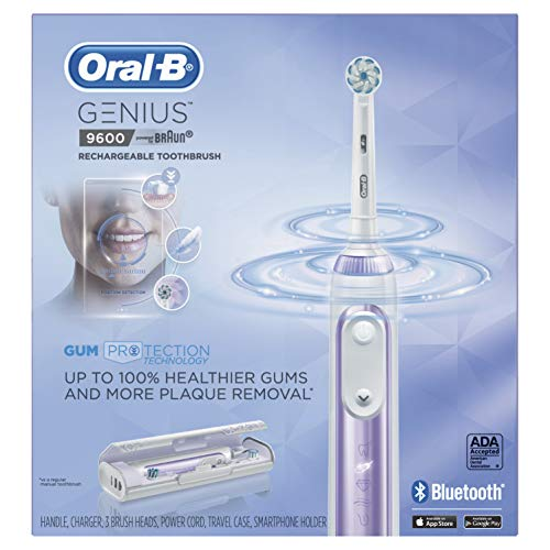 Oral-B 9600 Electric Toothbrush, Orchid Purple