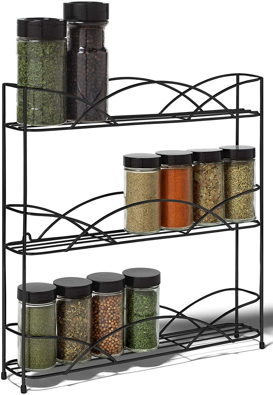 Spectrum Diversified Countertop 3-Tier Rack Kitchen Cabinet Organizer