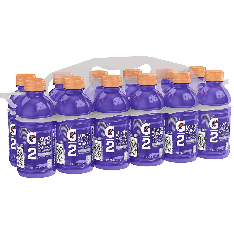 Gatorade葡萄味运动饮料,低糖低卡更健康