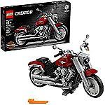 LEGO Creator Expert Harley-Davidson Fat Boy 10269 Building Kit, New 2020 (1,023 Pieces)