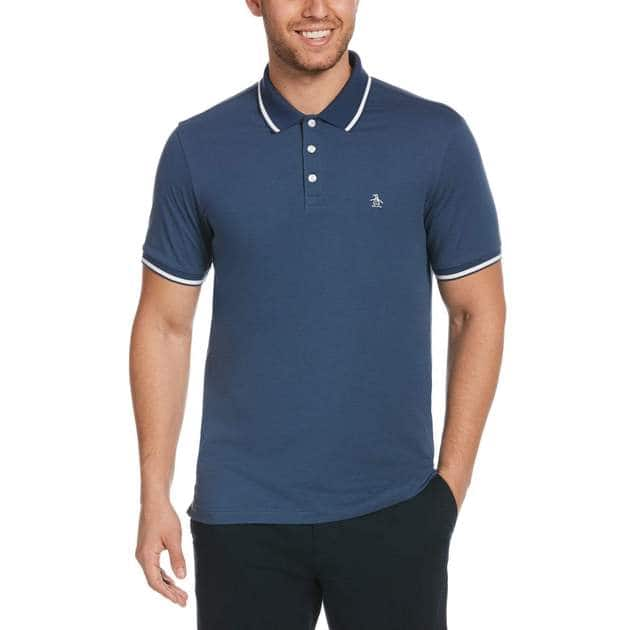 Original Penguin Sale + Extra 20% off: Men's Tipping Polo