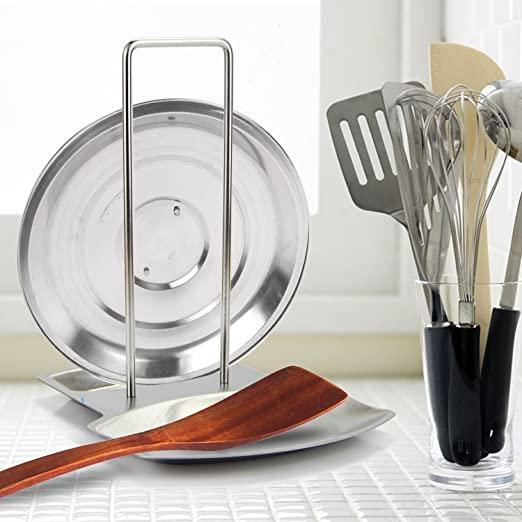 销量第一的锅盖和锅铲不锈钢架,烹饪时灶台也干净整洁
