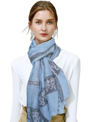 典雅高贵超轻女士保暖围巾