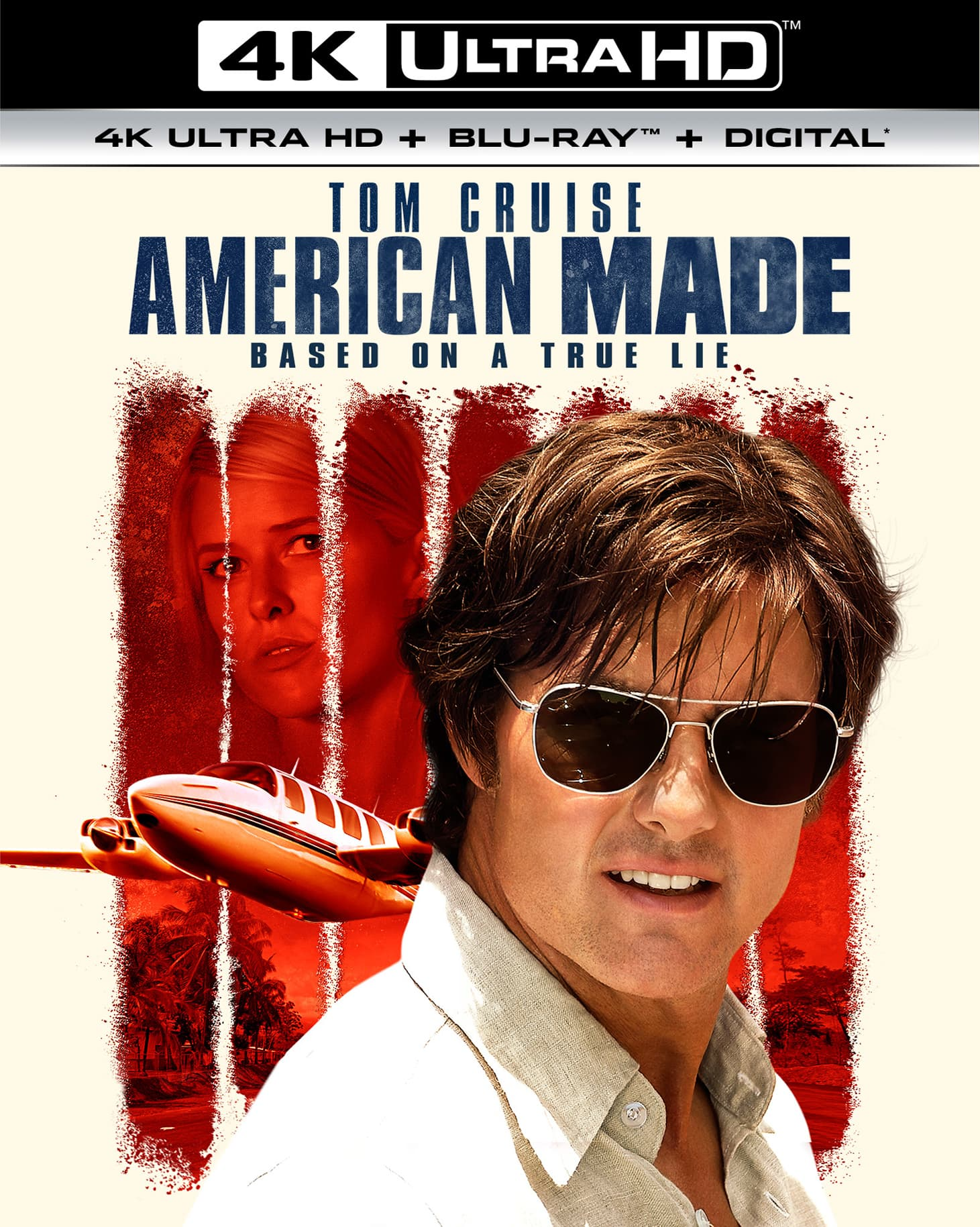 American Made (4K UHD + Blu-ray + Digital)