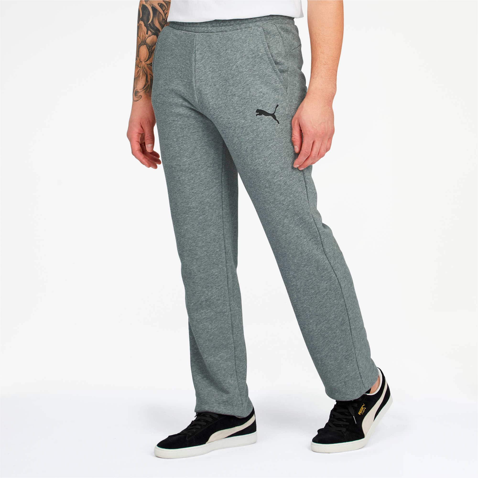 Men's PUMA Essentials Sweatpants (Grey, S or M)