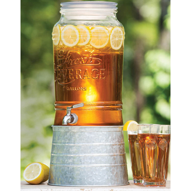 Sam's Club Members: Member's Mark 2-Gallon Glass Beverage Dispenser