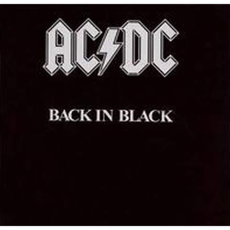 AC/DC: Back in Black (Vinyl Album; 180 Gram)