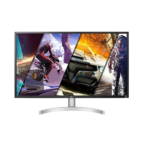 LG 32UL500-W 32 Inch UHD (3840 x 2160) VA Display with AMD FreeSync
