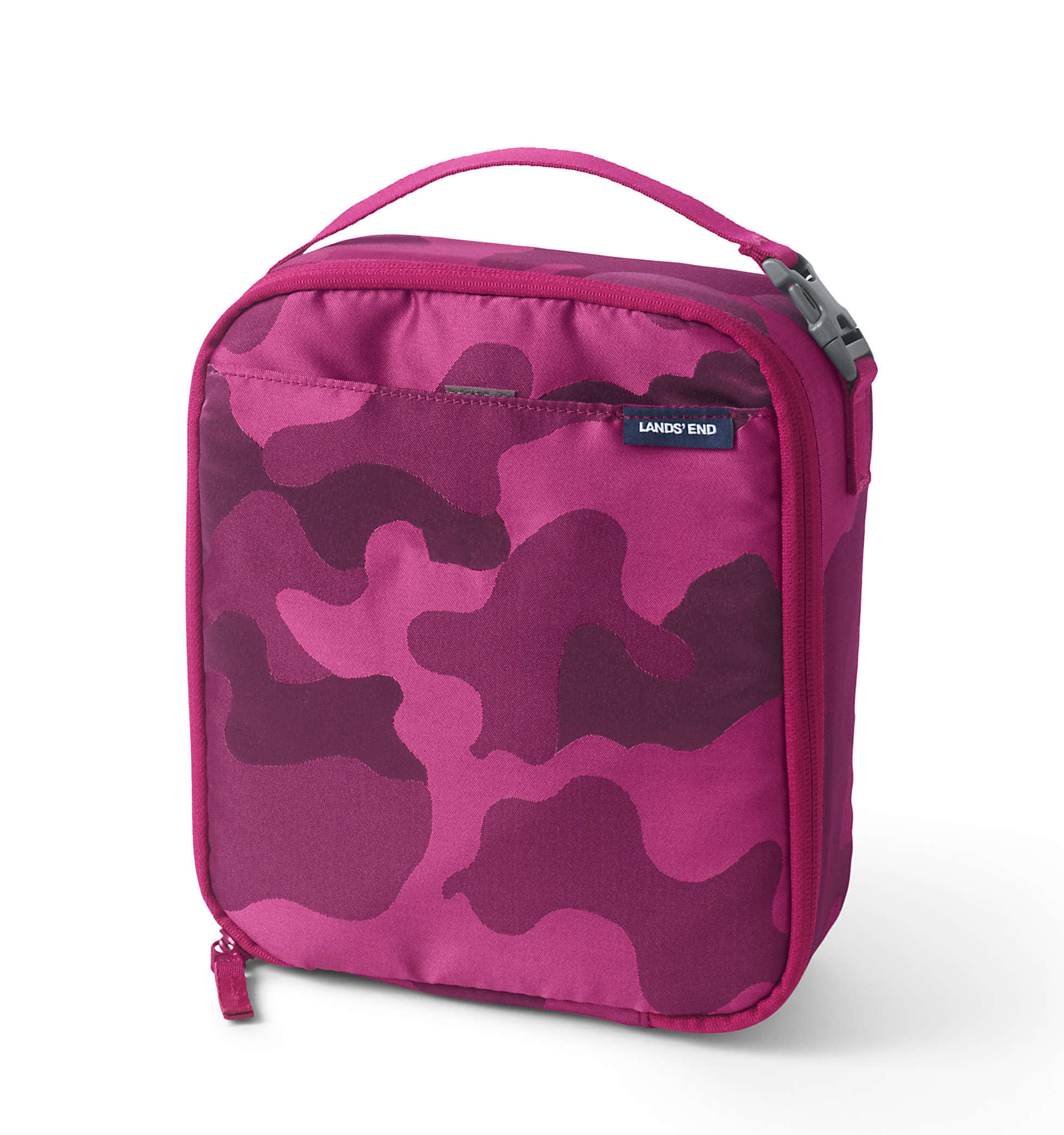 Lands' End Kids' Insulated Soft Sided Lunch Box