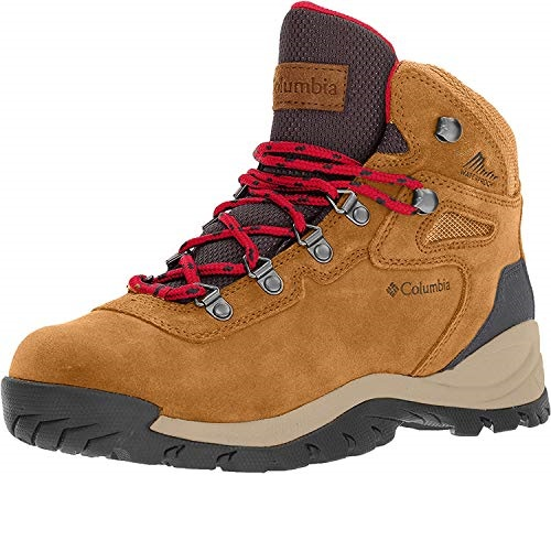 Columbia Women's Newton Ridge Plus Waterproof Amped Hiking Boot, Waterproof Leather