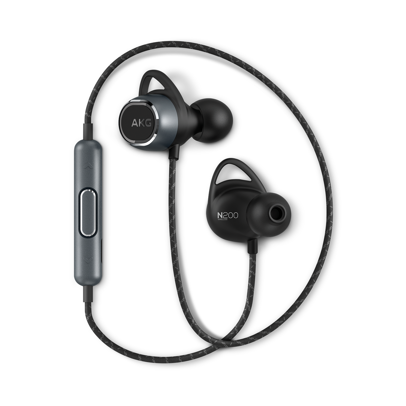 AKG N200BT Wireless Bluetooth Headphones (Black)