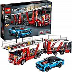 LEGO Technic Car Transporter 42098 + Chevrolet Corvette ZR1 42093 Building Kit