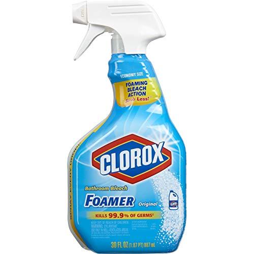 史低价!Clorox 浴室清洁消毒喷雾,30 oz
