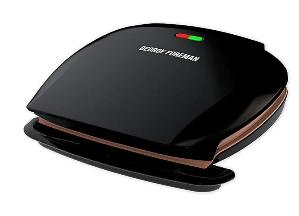 George Foreman 5-Serving Classic Electric Indoor Grill & Panini Press